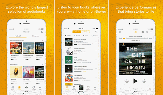 best free audio books apps for iPhone
