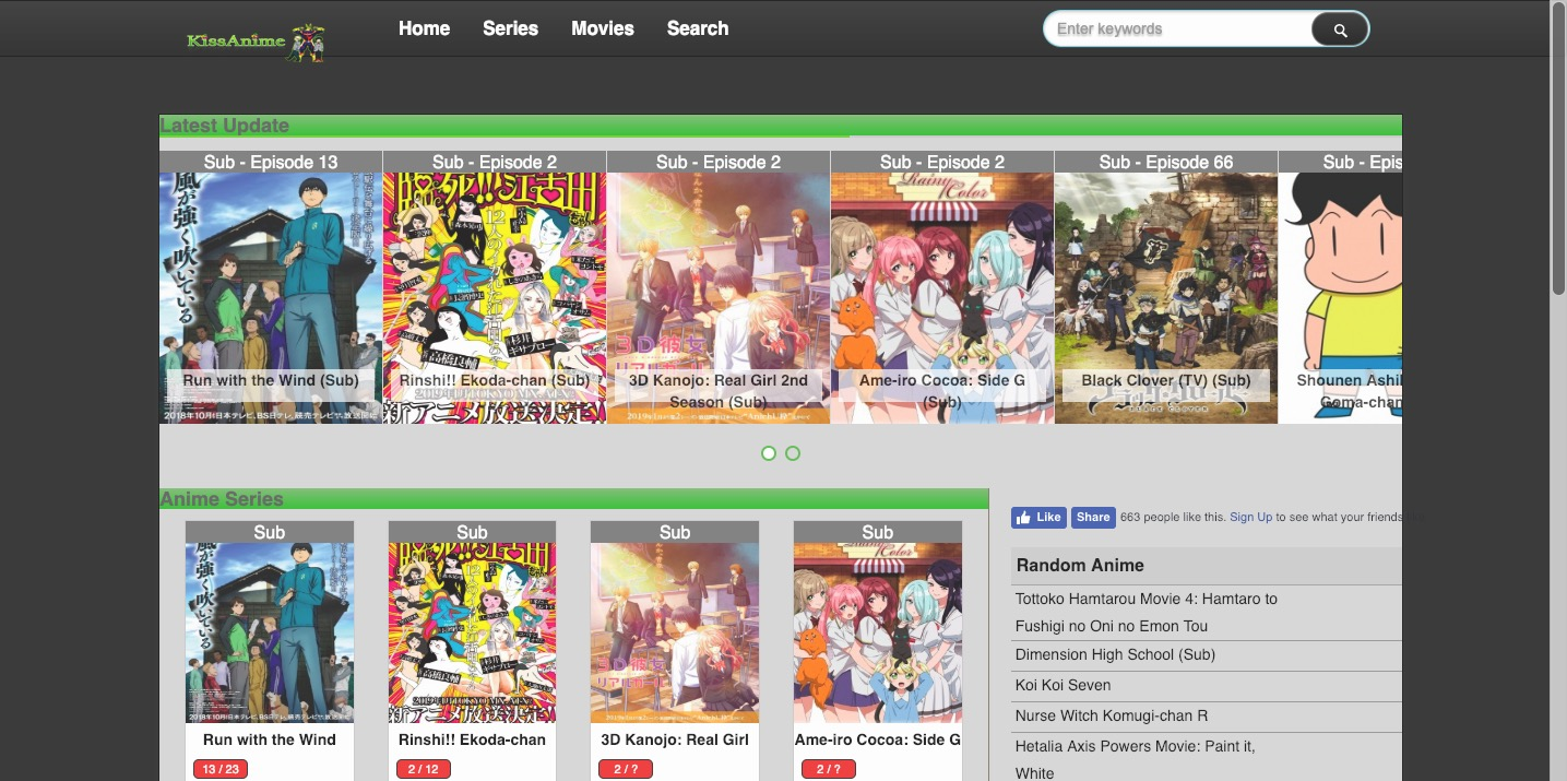 free anime streaming sites