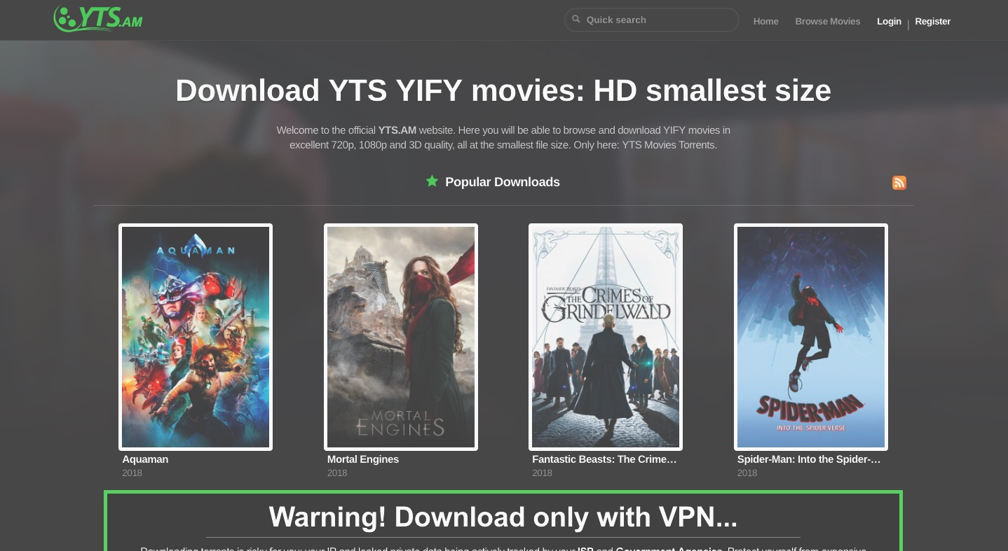 YIFY Proxy 2019: 20+ *NEW* Proxy/Mirrors Sites List (100