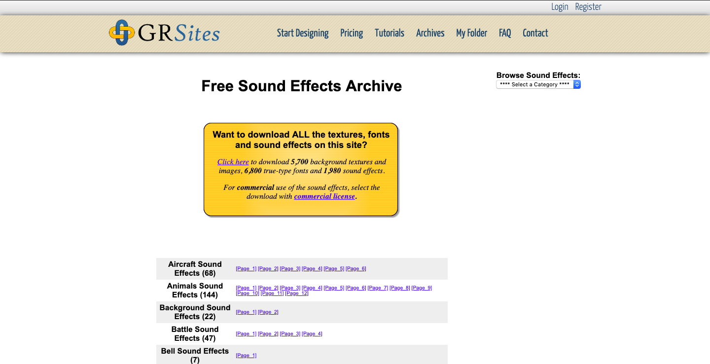 20+ Free Sound Effects Sites in 2019 (With Download Links) | TechRaver