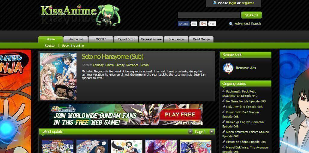 best free cartoon streaming sites