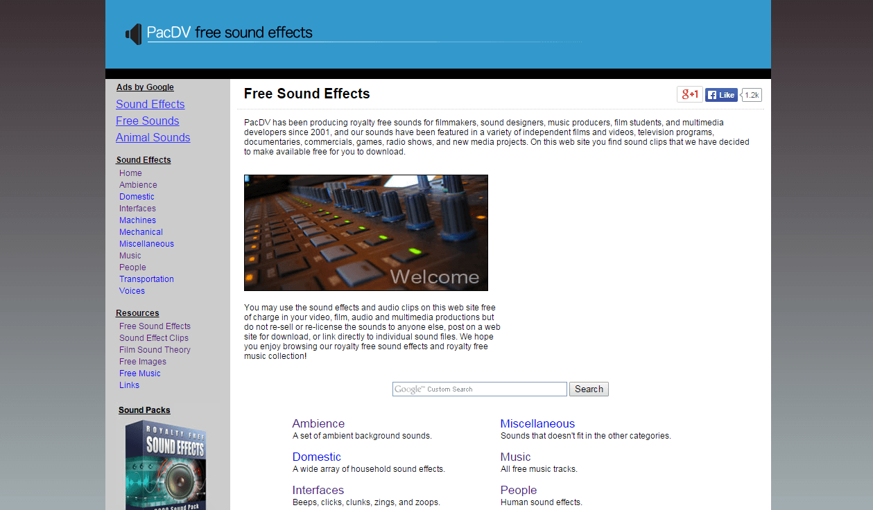 free sound effects download