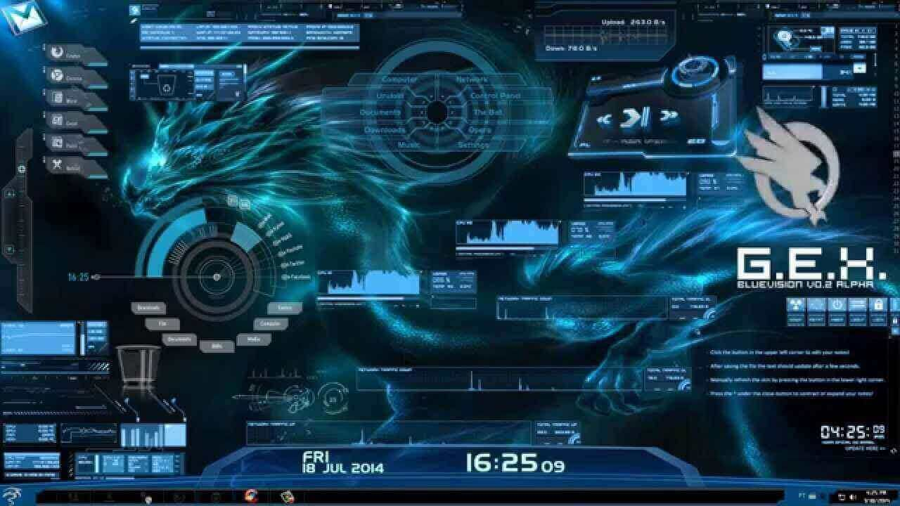 60 Best Rainmeter Skins Themes In 2020 With Download Links