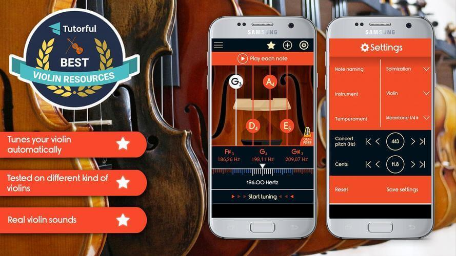 free violin tuner apps